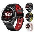 DT68 smartwatch IP68 עמיד למים צמיד 20 חיוג שעון פרצופים כושר Tracker הודעה לדחוף Bluetooth גברים נשים חכם שעון-בשעונים חכמים מתוך מוצרי אלקטרוניקה לצרכנים באתר