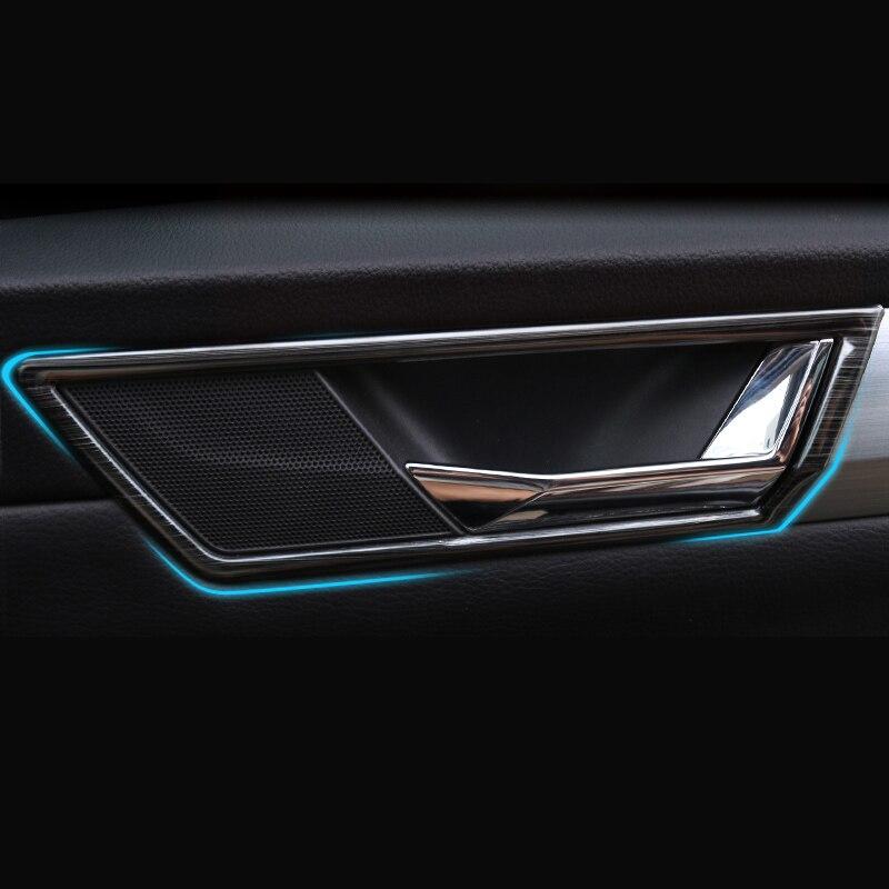 lsrtw2017 carro de aco inoxidavel porta interior tigela quadro para skoda superb 2016 2017 2018 2019