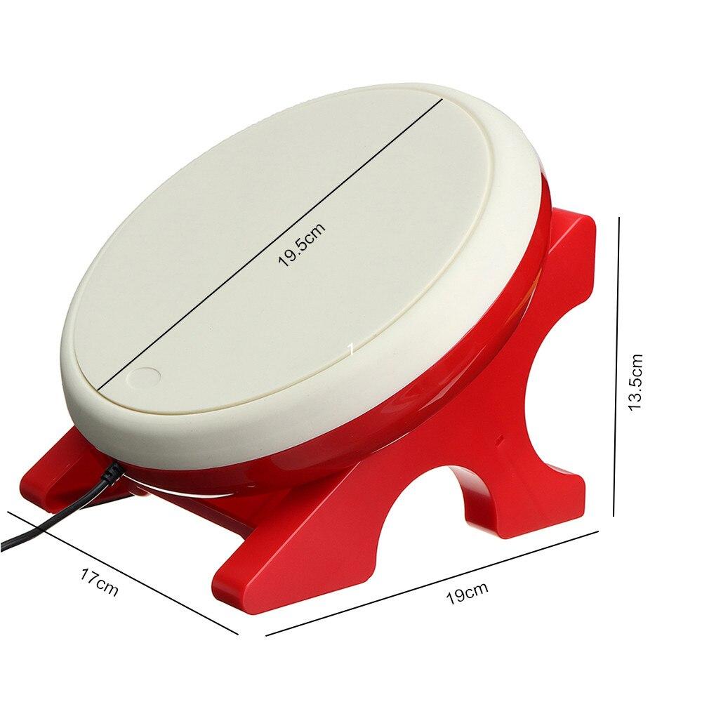 Jeu de bâtons de batterie de jeu vidéo USB pour contrôleur n-switch Console de jeu vidéo accessoires de jeu DC 5V pour tambour Taiko - 5