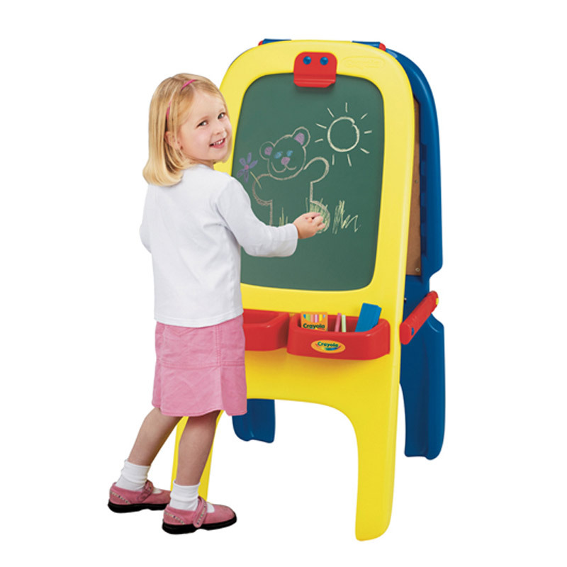 Crayola Magnetic Double-Sided Da Hua Ban Easel Children Fine Art Painting Educational 5031 A Generation Of Fat