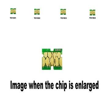 4pack 1B+1C+1M+1Y T01D1 T01D2 T01D3 T01D4 for Epson Compatible ink cartridge disposable chip WF-C529RDTW C579RDTW