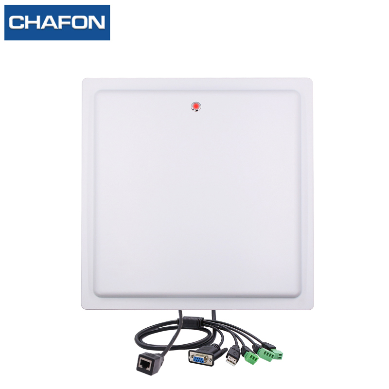 CHAFON 15m Long Range Rfid Reader Ip66 Waterproof USB RS232 WG26 RELAY TCP/IP Buit-in 12dBi Antenna Free SDK For Car Parking