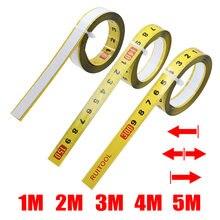 Fita métrica de 1-5m, fita de medição para pista de 0.5