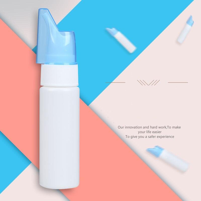 Портативный горшок для мытья носа Neti для взрослых и детей, спрей для промывания носа, пустая бутылка для носа, забота о здоровье, Антиаллергенная стерилизация, чистка носа