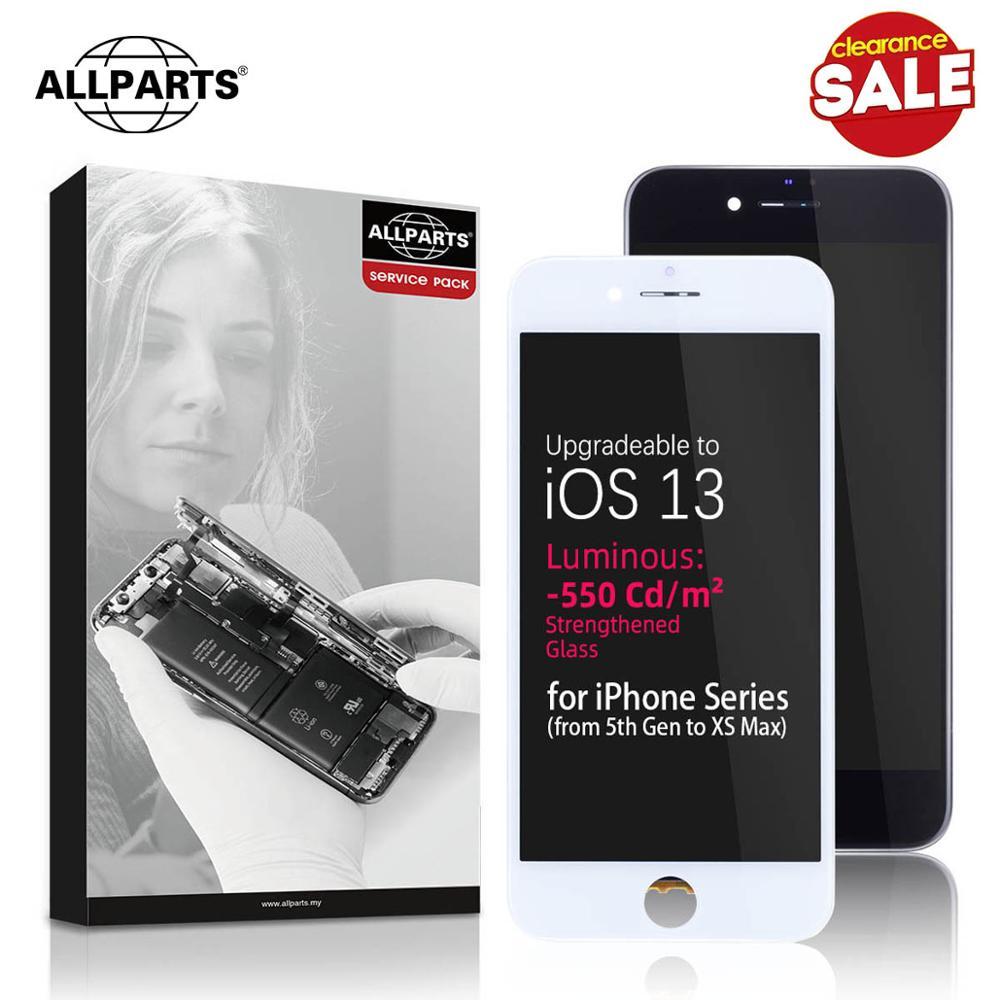 Para iPhone 5 6s 7 Plus Pantalla LCD Pantalla Táctil Digitalizador Ensamblaje Blanco Negro