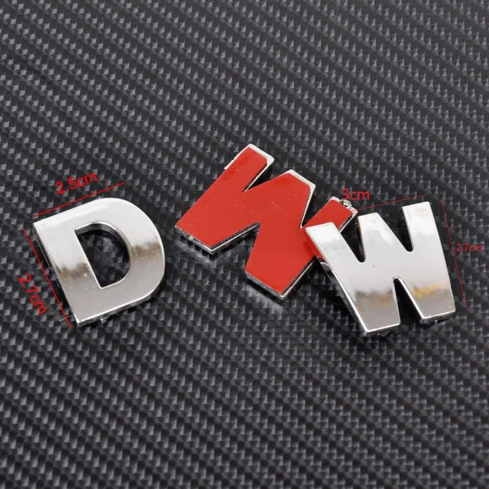 Auto DIY letras alfabeto número pegatinas Logo para Audi I Ah A8 A3 A4 A6 A5 Q7 R A3 3 puertas