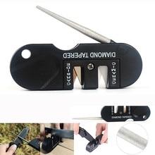 Carbide Knife Pocket Diamond Tool Scissor Sharpen Fish Whetstone Sharpener outdoor multi Hook Camp Multipurpose Sharpener #8