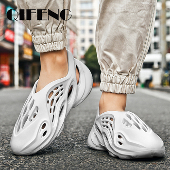 Novelty Summer Mens Sandals Beach Shoes Casual Fashion Water Shoes Anti Slippery Sandal Women Sandals Light Trendy Summer Shoes