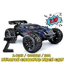 JLB Racing RC Car 1:10 4WD CHEETAH 120A Upgrade 1/10 Brushless RC Model Toys Off-road Truck Functional Climbing Control Cars