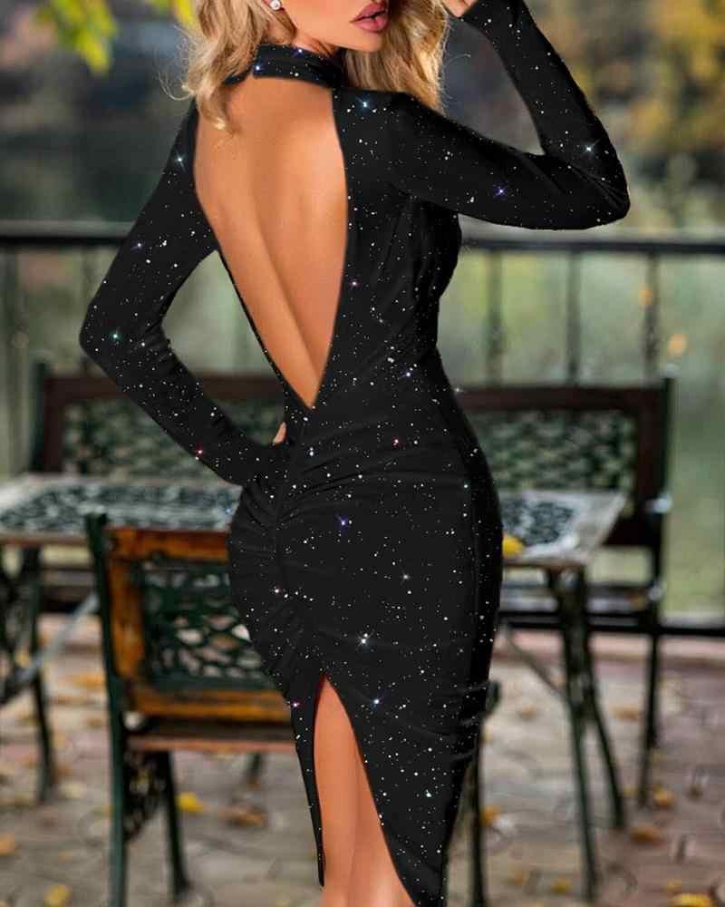 Вечернее Платье Спина