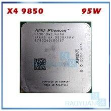Amd phenom x4 9850 quad-core desktop 2.5ghz cpu hd9850wcj4bgh hd985bwcj4bgh 95w soquete am2 + 940pin