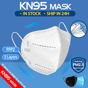 FFP2 Mask KN95 Mouth Face Masks Filter Dustproof Anti-fog Respirator Breathable 5-Layer Protection Mascarillas kn95 Mask