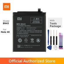 цена на Original Xiaomi BN43 Note 4X Phone battery For xiaomi  Note 4 Note 4X BN43 4000mAh