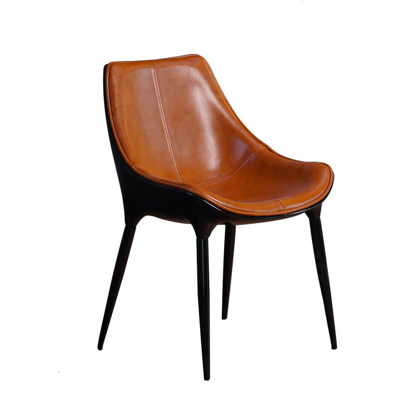 Simple family hotel chair model room back chair designer leisure creative meeting chair|  - title=
