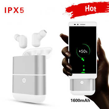 KAPCICE X2-TWS Bluetooth Earbuds Wireless  Headsets Stereo In-Ear Earphones With Charging Box for ios andAndroid
