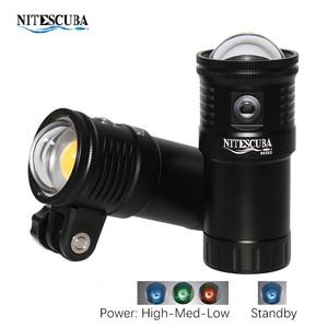 Image 2 - Nitescuba NSV60 diving video light 6000lumen High CRI=90