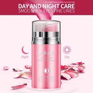 Rose Remove Wrinkles Eye Cream Day And Night Elastic Eye Cream Essence Anti-puffiness Finelines Firming Skin Care TSLM1