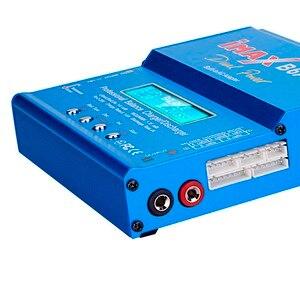 Image 4 - IMAX B6 AC 80 ワット B6AC RC 充電器 6A デュアルチャンネルバランス充電器リチウムイオンニッケル水素ニッカドリポバッテリーデジタル液晶画面放電器