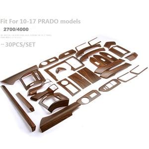 Image 5 - Car Styling Sticker Accessories Interior Moulding Trim For Toyota Land Cruiser Prado 150 LC150 FJ150 2014 2015 2016 2017 30pcs