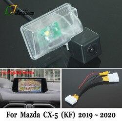 Kamera cofania dla Mazda CX 5 CX 5 CX5 KF 2019 2020/28 Pin kabel adapter dla OEM Monitor/HD CCD tylna kamera samochodowa w Kamery pojazdowe od Samochody i motocykle na