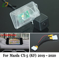 Reverse Kamera Für Mazda CX-5 CX 5 CX5 KF 2019 2020 / 28 Pin Adapter kabel Für OEM Monitor / HD CCD Auto Rückansicht Kamera