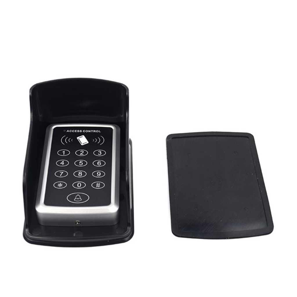 Doorbell keyboard waterproof box, remote control storage box Cover For Wireless Doorbell Ring Chime Button Transmitter Launchers