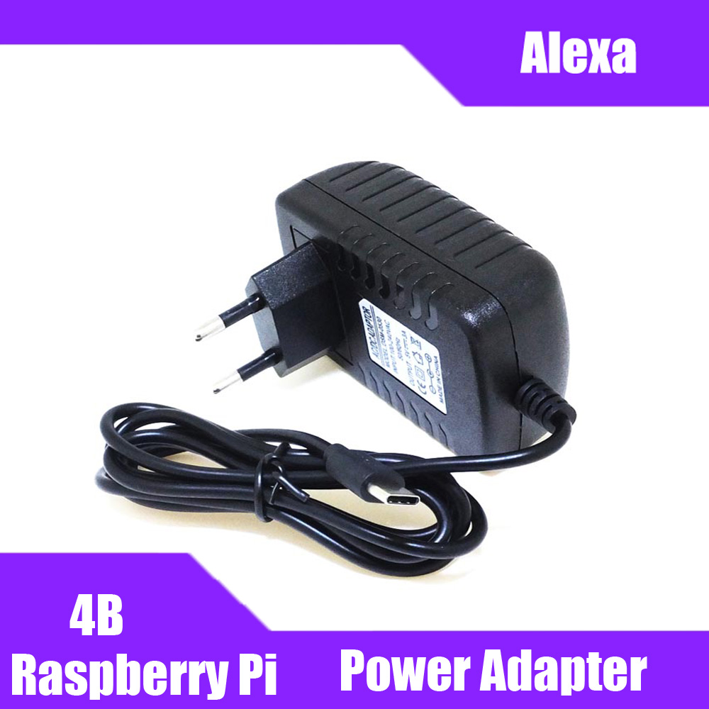 Raspberry Pi 4 Type-C Power Supply 5V 3A Power  EU US AU UK Charger For Raspberry Pi 4 Model B