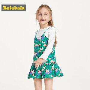 Image 4 - Balabala vestido de princesa para niña, traje Floral para niña, trajes de fiesta, disfraz de mariposa, ropa para niño