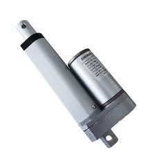 Elektrikli lineer aktüatör 75mm inme lineer motor kontrolörü dc 12V 24V 100/200/300/400 /600/700/900N