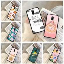 Foodie casos de telefone para huawei p9 p10 p20 p30 p40 lite por psmart 2019