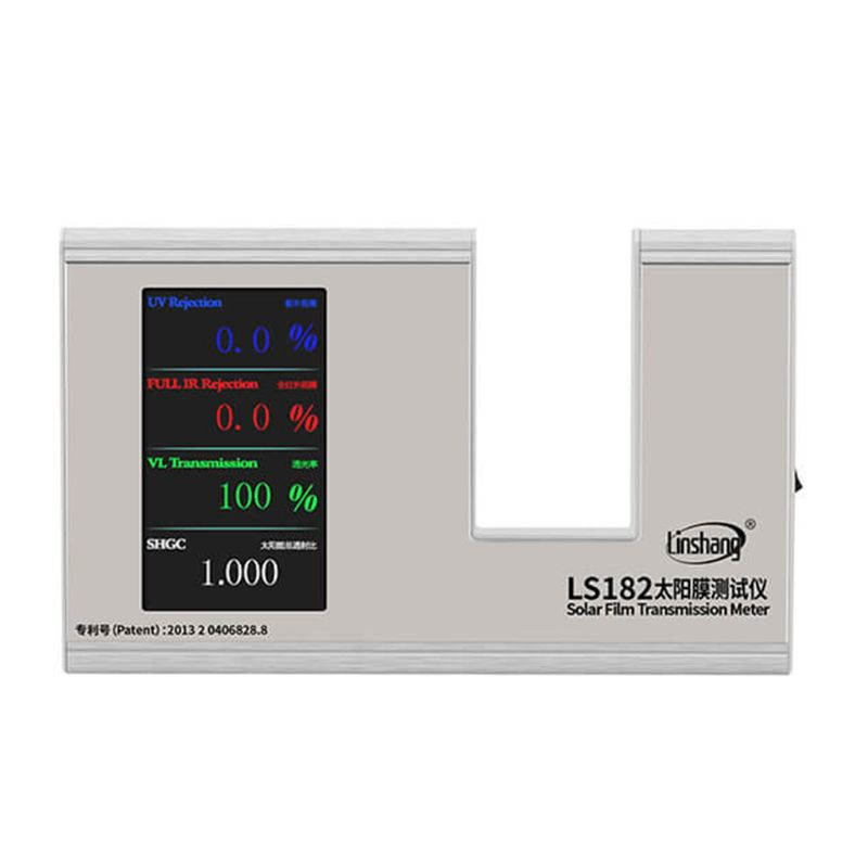 LS182 SHGC Window Energy Meter With UV Full IR Visible Light Transmittance Solar Heat Gain Coefficient With 6 Results