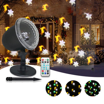 Led Lights Projector Outdoor New Year Decorations Christmas for Home Garden