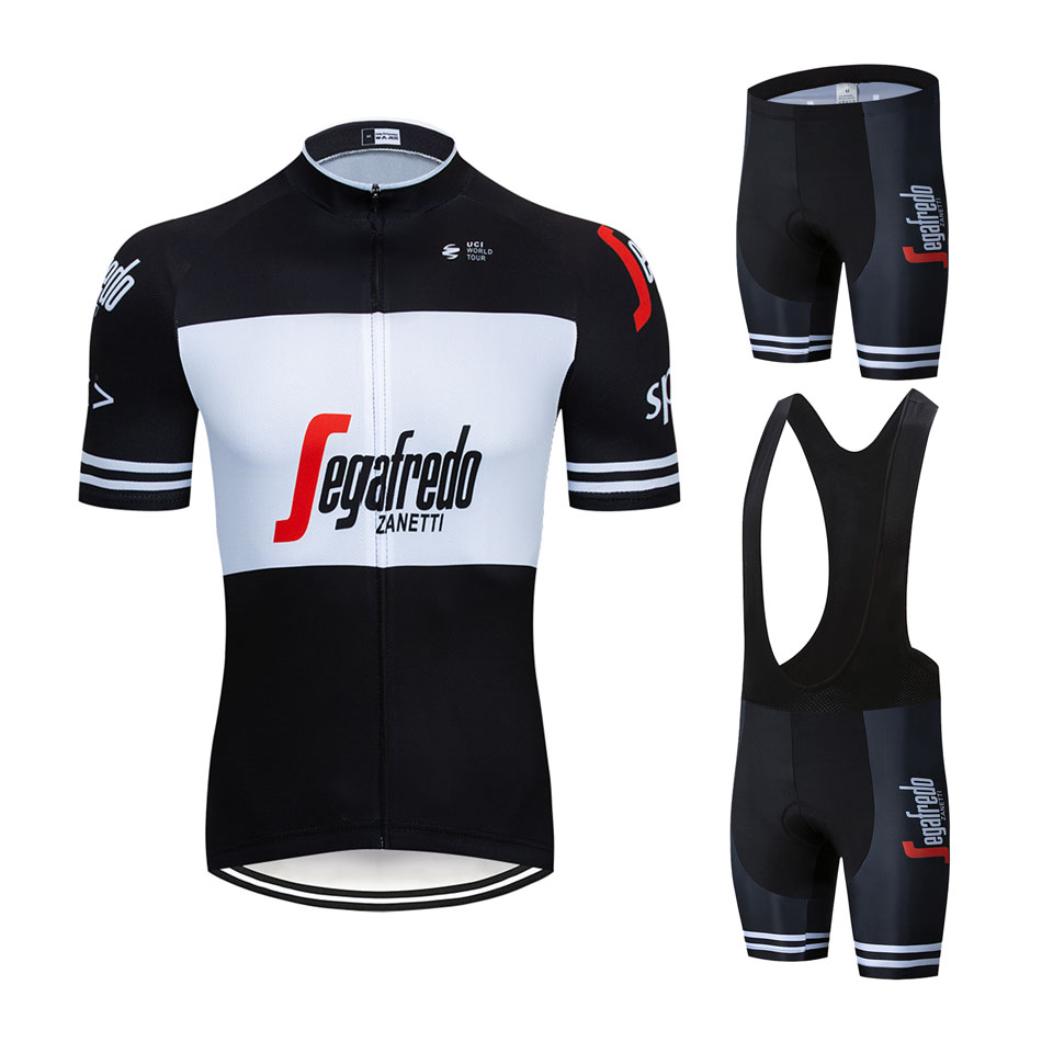 2019 TEAM Trekking Black Cycling Clothing Bike Jersey Ropa Quick Dry Mens Bicycle Summer Pro Cycling Jerseys  Bike Shorts