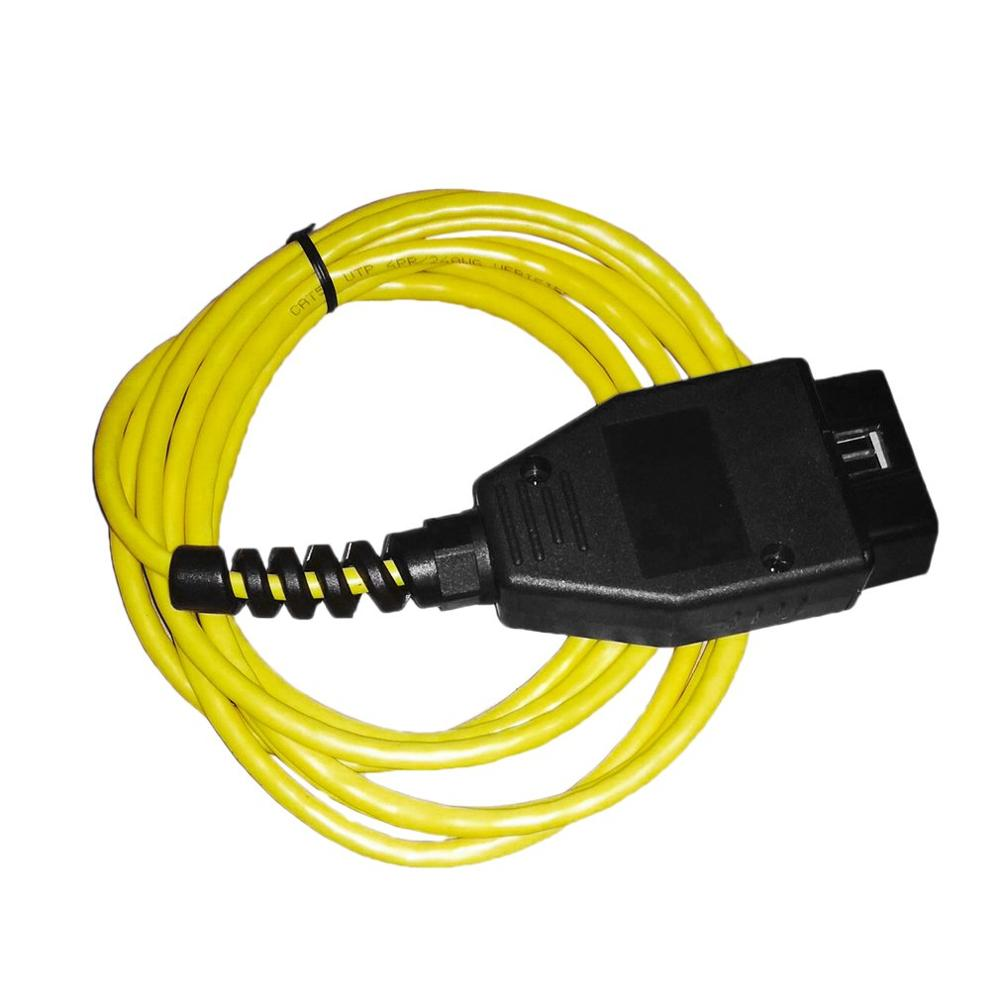 Ethernet to OBD Interface Cable High Performance Coding F-series For <font><b>BMW</b></font> ENET 2M Fault Codes <font><b>Diagnostic</b></font> <font><b>Scanner</b></font> image
