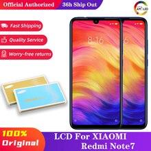 10ชิ้น/ล็อตสำหรับ Xiaomi Redmi หมายเหตุ7จอ LCD กรอบหน้าจอสำหรับ Redmi Note7 Pro LCD กรอบหน้าจอ