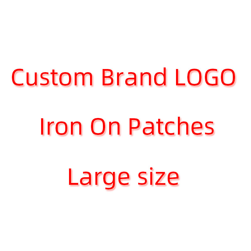 Custom Brand LOGO Iron On Cool Tiger Patches Clothes DIY T-shirt Jacket Applique Heat Transfer Letter Animal Patch Sticker E