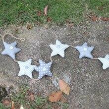 [Средиземноморская Серия] Морская звезда, хлопок, лен, ткань, подвеска, веревка, завязанная система/Морская звезда, подвеска