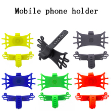 360 Rotating Stable Practical Phone Holder Shock Absorbing Mount Eco-f