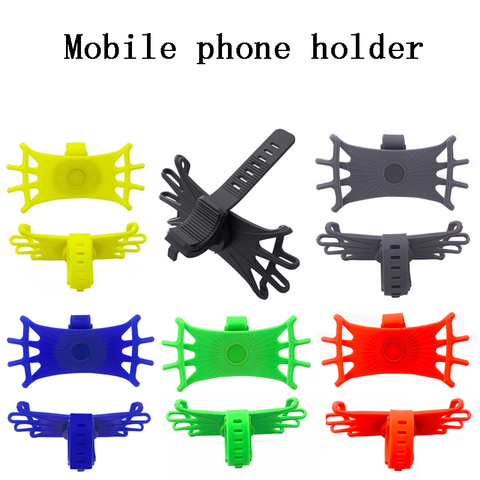 360 Rotating Stable Practical Phone Holder Shock Absorbing Mount Eco-friendly silicone smartphone holder For most mobile phones Pakistan