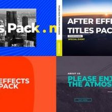 Lifestyle Titles Pack - Download 24002316 Videohive