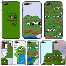 Mobile Phone Case for iPhone 6 6s 7 8 Plus iPhone 11 Pro X XR XS Max 5 5S SE Cover The Frog Meme(China)