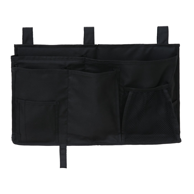 ABDB-Hanging Organizer Bedside Storage Bag For Bunk And Hospital Beds, Dorm Rooms Bed Rails