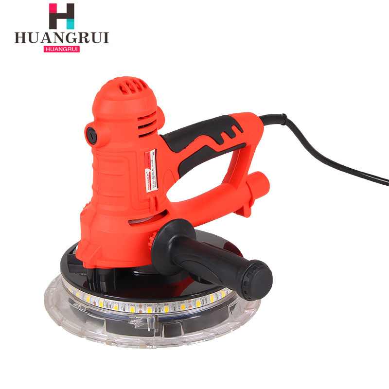 Huang Rea Electric Tool Dust-Free Self-Priming Long Brush Holder Wall Putty Grinding Machine Sandpaper Leather Machine Mo Qiang