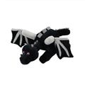 60cm smok lalka Ender smok pluszowa zabawka duży rozmiar czarna zabawka smok wypchana lalka zwierzak dzieci świetne prezenty w Filmy i telewizja od Zabawki i hobby na