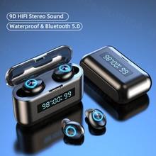 بلوتوث اللاسلكية سماعات للهاتف الرياضية للماء TWS بلوتوث سماعات مع الميكروفونات 3D ايفي ستيريو الموسيقى سماعات الأذن