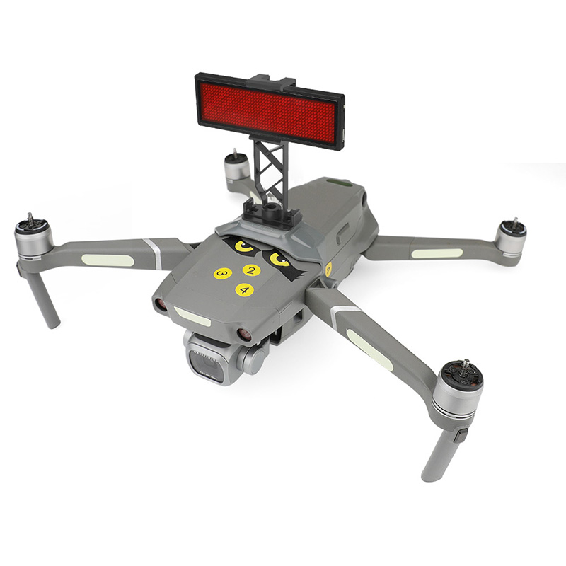 Drone Party Flight Can Edit Multiple Languages Pattern LED Display Screens For Dji Mavic 2 Pro 2 Zoom Drone Accessories