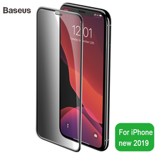 Baseus 0.3mm Privacy Screen Protector For iPhone 11 Protective Glass Tempered Pro Max 2 Piece And Tool