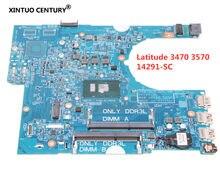 CN-601D27 601D27 14291-SC для Dell Latitude 3470 3570 материнская плата для ноутбука 448.06105,00 SC с 3 ЦП QJFC 100% протестированная работа