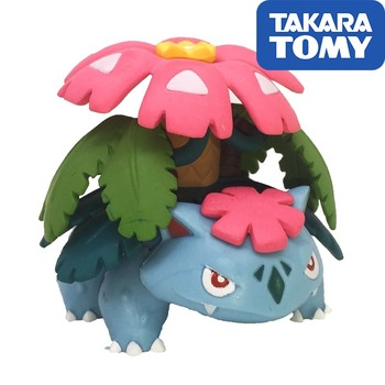 Pokemon Genuine Action Figure MEGA Venusaur Doll Action Figure Collections Kids Gifts недорого