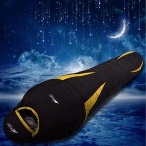 Image 2 - Ultralight Down Sport Sleeping Bags Outdoor Camping Hiking Traveling Duck Down Adult Mummy Waterproof  Winter Sleeping Bags